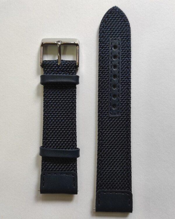 Blue Cordura watch strap